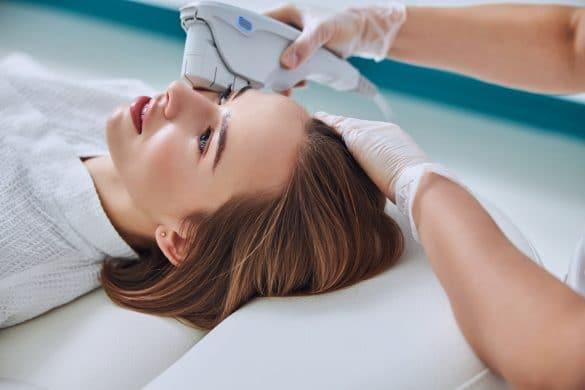 процедура у косметолога